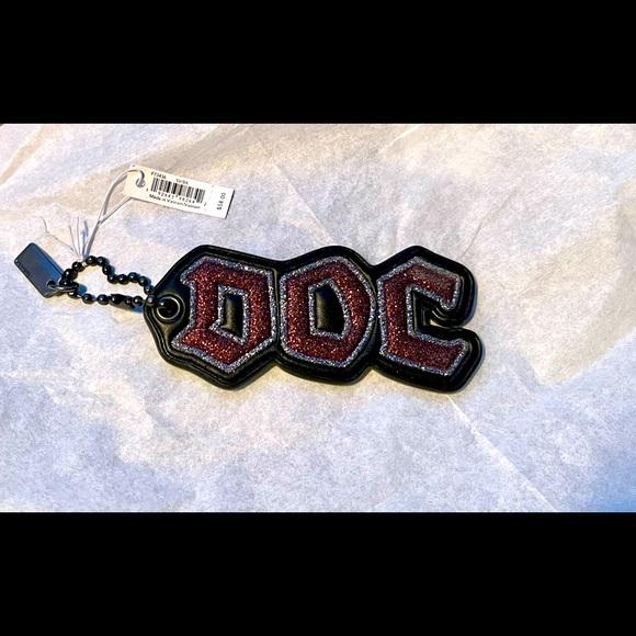 Coach X Disney Doc Bag Charm Keychain NWT